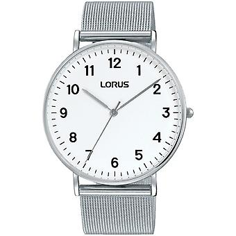 Lorus RH817CX-9 Srebrny tone Mesh zegarek na rękę