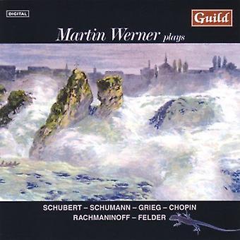 Martin Werner Plays Schubert Schumann & Grieg [CD] USA import