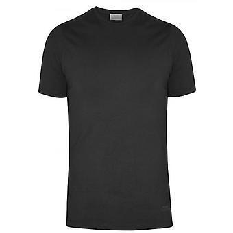 CC Collection Corneliani Black Crew Neck T-Shirt