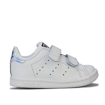 Girl's adidas Originals Infant Stan Smith Trainers in White