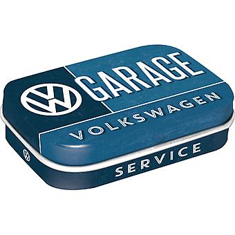 VW Garage Nostalgic Sugar Free Mint Tin - Cracker Filler Gift