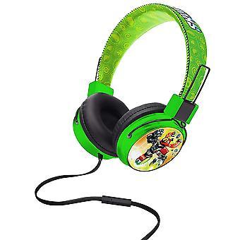 Skylanders Swap Force Kids Headphones Green
