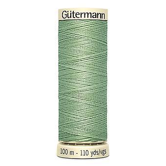 Gutermann sy-alle 100% polyestertråd 100m hånd- og maskinfarvekode - 914
