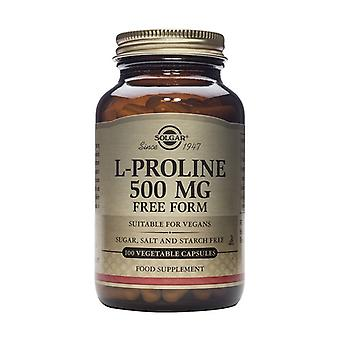 L-Proline 100 vegetable capsules (500mg)