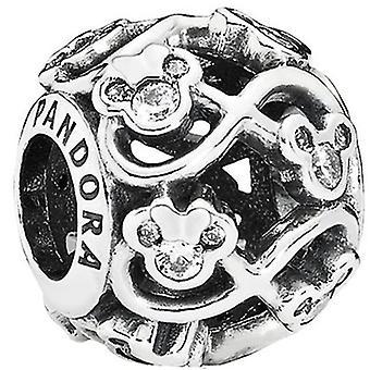PANDORA Disney - Minnie & Mickey Infinity Charm - 791462CZ