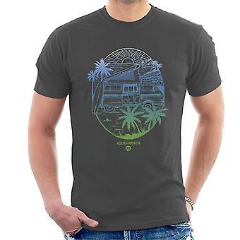 Volkswagen Coastline Sunset Men's T-Shirt