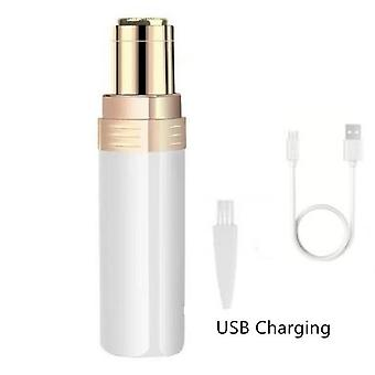 Usb Charging Portable Electric Epilator Painless Hair Remover - Eyebrow Trimmer
