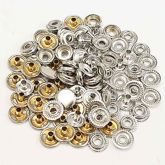 Stainless Steel Fastener Snap Press Stud Buttons - Marine Boat Canvas Leather