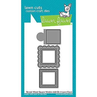 Lawn Fawn Reveal Wheel Square Window Add-On stirbt