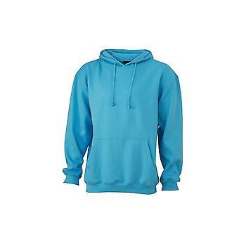 James och Nicholson Unisex Hooded Sweatshirt