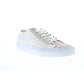Gola Quota II  Mens Beige Tan Canvas Retro Lifestyle Sneakers Shoes