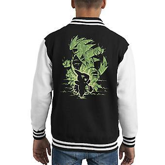 Den tyrann innen Tyranitar Kid ' s Varsity jakke