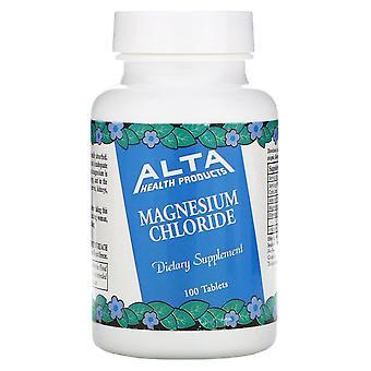 Alta Health, Magnesium Chloride, 100 Tablets