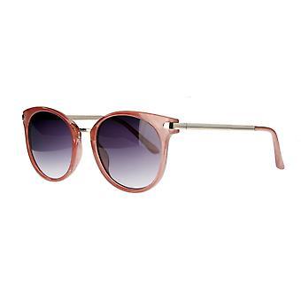 solbriller unisex cat.2 mørk rosa /røyk (AML19015 D)