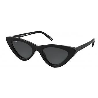 Sunglasses Women's Blueberry polarizes black