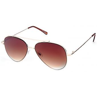 Sunglasses Unisex gold/brown 18-063A