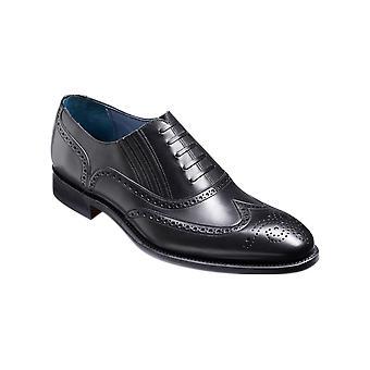 Barker Timothy - Becerro Negro (Black Calf) Hombres hechos a mano cuero Oxford Brogues Zapatos Barker
