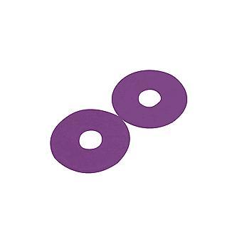 Korsteel Rubber Bit Guards (pair) - Purple
