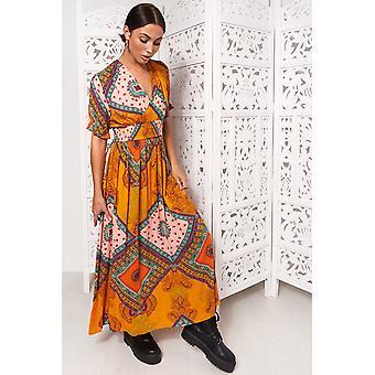 Margo Print Maxi Dress