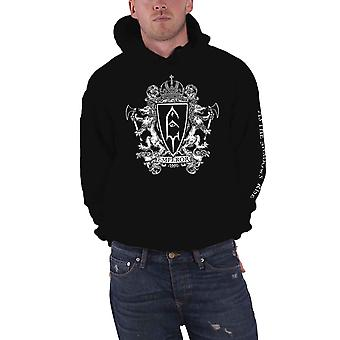 Emperor Hoodie As The Shadows Rise Band Logo new Official Mens Black Pullover