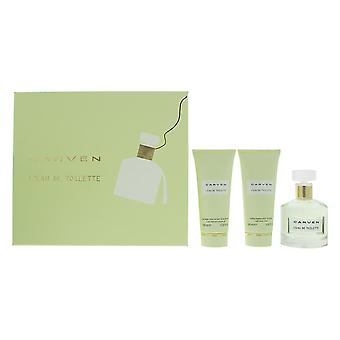 Carven L'Eau de Toilette 100ml, Shower Gel 100ml & Body Cream 100ml Gift Set
