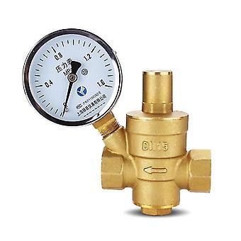 Brass Water Pressure- Reducing Maintaining Valve