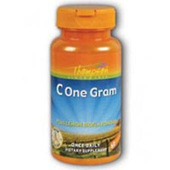 Thompson Vitamin C, 1000 mg, One Gram 60 Caps