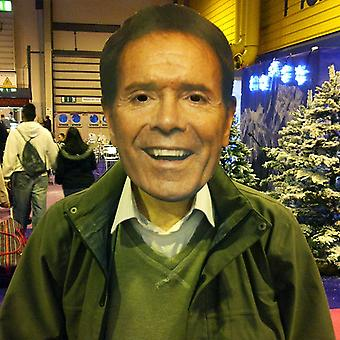 Mask-arade Cliff Richard Celebrities Party Face Mask