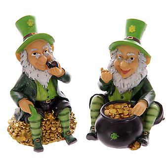 Novelty Lucky Leprechaun Money Box