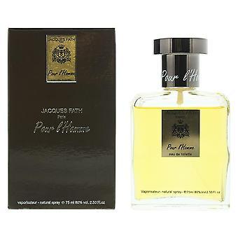 Jacques Fath Pour l'Homme Eau de Toilette 75ml Spray For Him