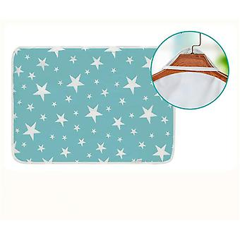 Reusable Baby Diaper Cover For Newborn Cotten Waterproof Changing Pats Floor Play Mat (note The Color)