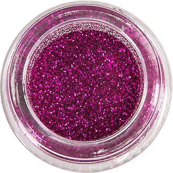 MoYou London Nail Art Glitter Pots - Magenta Magic 15ml (mg011)
