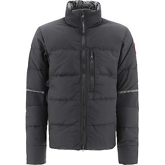 Canada Goose Cg2744m3561 Men's Black Nylon Down Jacket