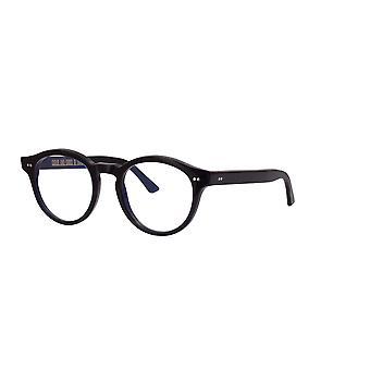 Cutler and Gross 1378 01 Blue on Black- Blue Light Lenses Glasses
