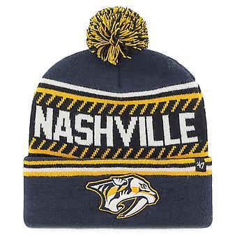 47 Brand Beanie Winter Hat - THE ICE Nashville Predators
