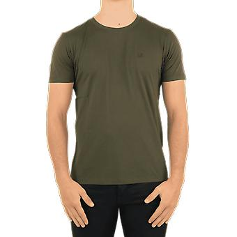 C.P.Company T-Shirts - Short Sleeve Green 09CMTS024A005100W683 Top