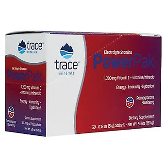 Trace Minerals Electrolyte Stamina Power Pak 30 uds