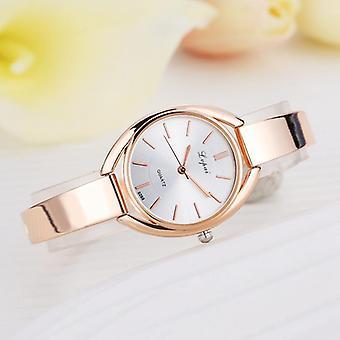 Elegant designed Ladies Watch Rose Golden Quarz Armbanduhr