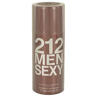212 Sexy deodorant spray by carolina herrera 540008 151 ml