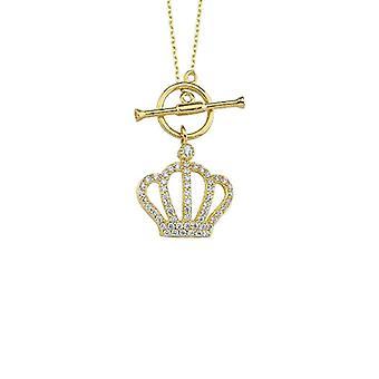 Krona Guld Halsband