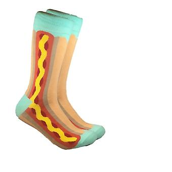 Hot Dog Print Sosete