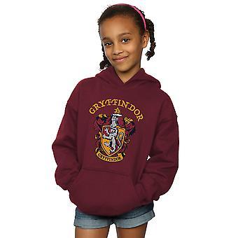 Harry Potter Girls Gryffindor Crest Hoodie