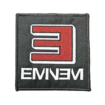 Eminem Patch Reversed E Logo new Official Black