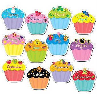 "Designer Cut-Outs, Cupcakes, 10"""