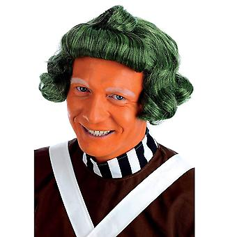 Fun shack mens chocolate factory worker wig adults green costume accessory green chocolate factory