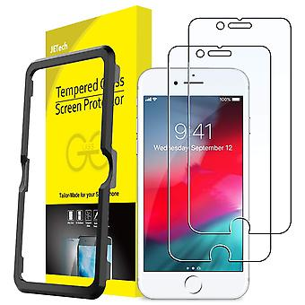 Jetech screen protector for apple iphone se 2020, iphone 8 iphone 7 iphone 6s iphone 6 tempered glas