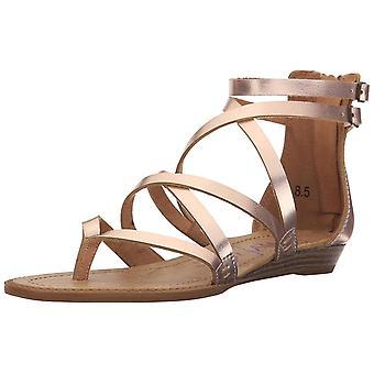 Blowfish Womens Bungalow Leather Split Toe Casual Platform Sandals