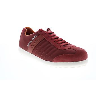 Camper Pelotas XL  Mens Red Canvas Lace Up Euro Sneakers Shoes