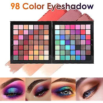 Hotrose Full 177 Color Eyeshadow Palette Blush Lip Gloss Concealer Kit Beauty Makeup Set