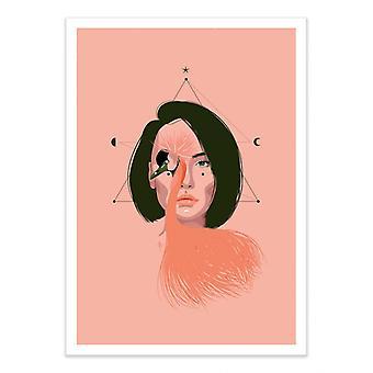 Art-Poster - Kran - Ana Ariane